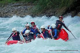 Whitewater rafting on Cagayan de Oro river