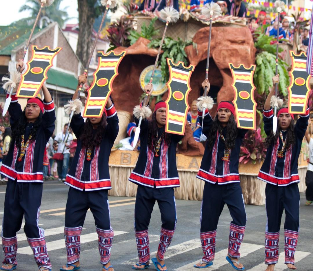 Bukidnon Street Dancing at the Kaamulan Festival