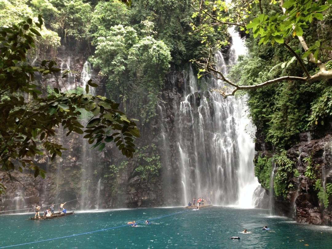Rafting in Tinago Falls, Iligan City