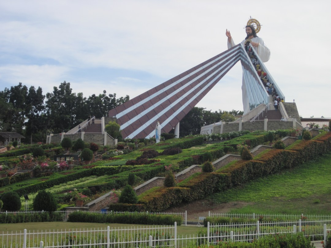 Climb the Steps to the Divine Mercy Shrine, El Salvador, just outside of CDO