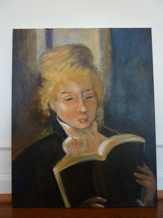 acrylic painting Renoir
