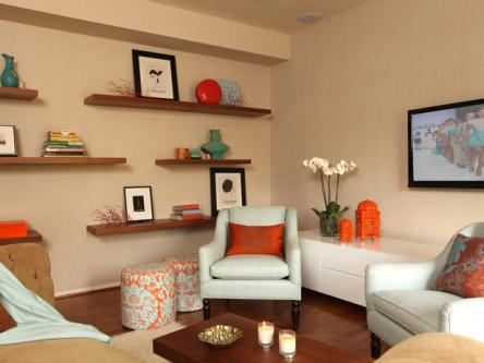 floating shelves, floating shelves arrangement ideas