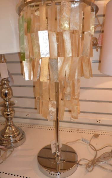 capiz lamp, home decor shopping
