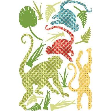 monkey wall decals