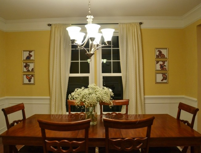 Whats Ur Home Story: Dining Room makeover