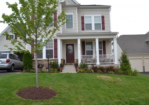 front yard makeover, front yard landscaping