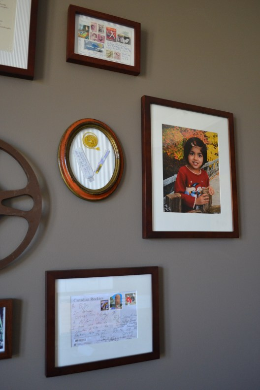 decorating with post , photo gallery wall