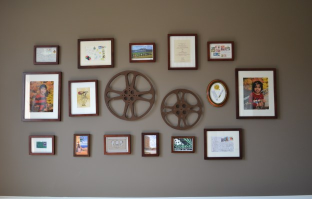 gallery wall, photo gallery wall