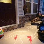 Whats Ur Home Story: Crime Scene Halloween Decorating