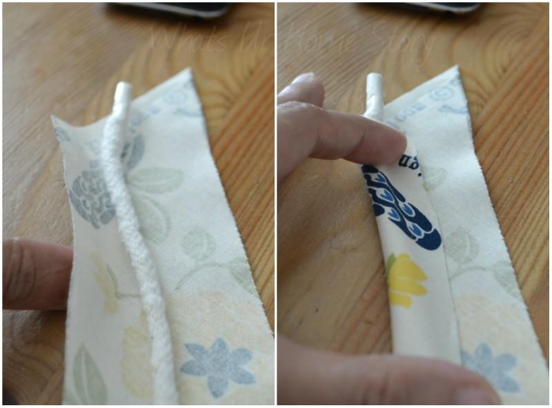 Upholstery cording tutorial