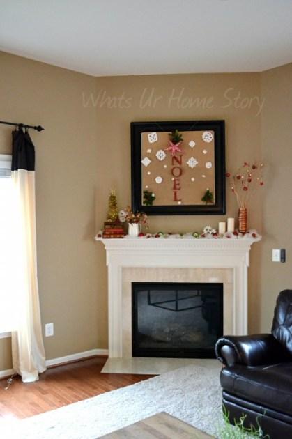 Whats Ur Home Story : Christmas Mantel