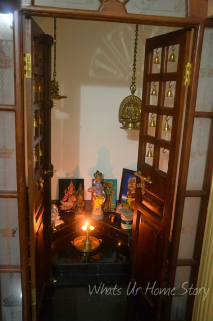 Interior design ideas indian style whats ur home story - Pooja room door designs in kerala ...