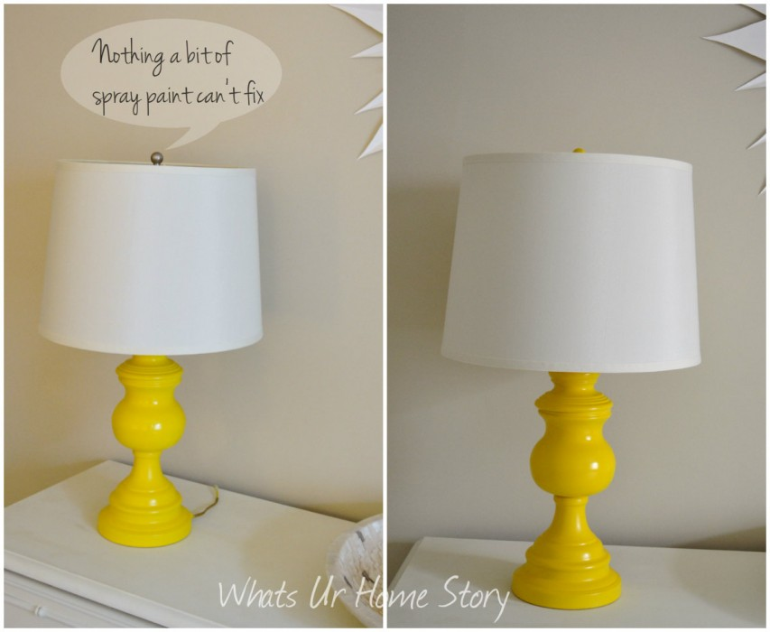 Whats Ur Home Story: Lamp finial, lamp makeover
