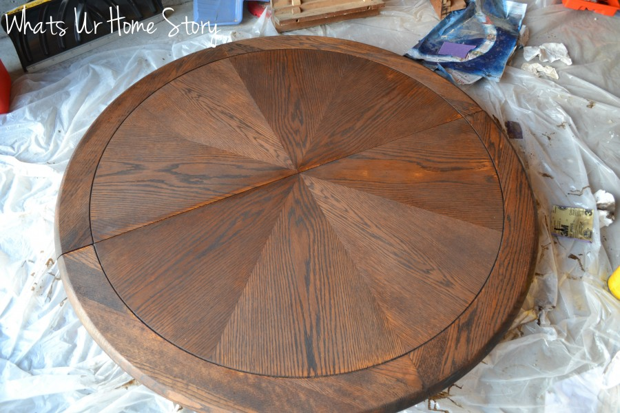 Whats Ur Home Story: How to stain wood furniture, minwax dark walnut stain,Stain Furniture, How to Stain Wood Tutorial