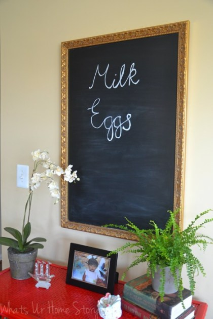 Whats Ur Home Story: diy chalkboard from mirror