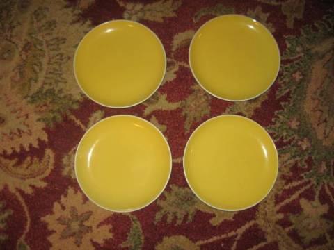 Crate and Barrel Sundance salad plates