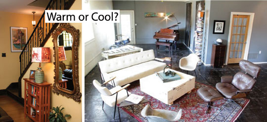 warm colors or cool ones? , Choose Paint Colors, How to Choose Paint Colors