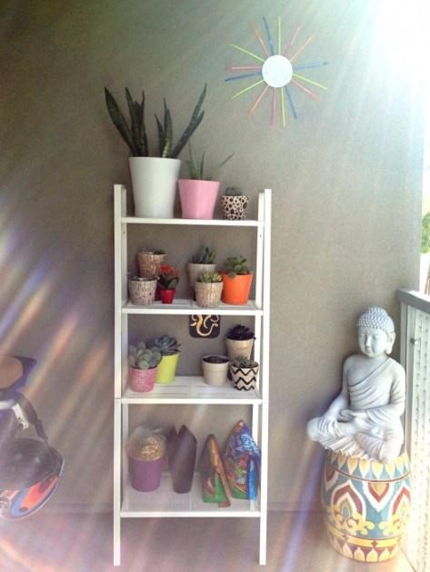 Whats Ur Home Story: IKEA planter hack, IKEA mirror hack, zip tie mirror, IKEA Hack
