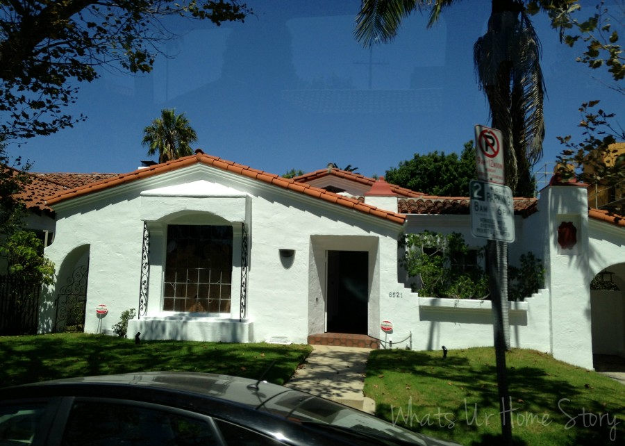 Spanish Colonial Revival style in Culver city