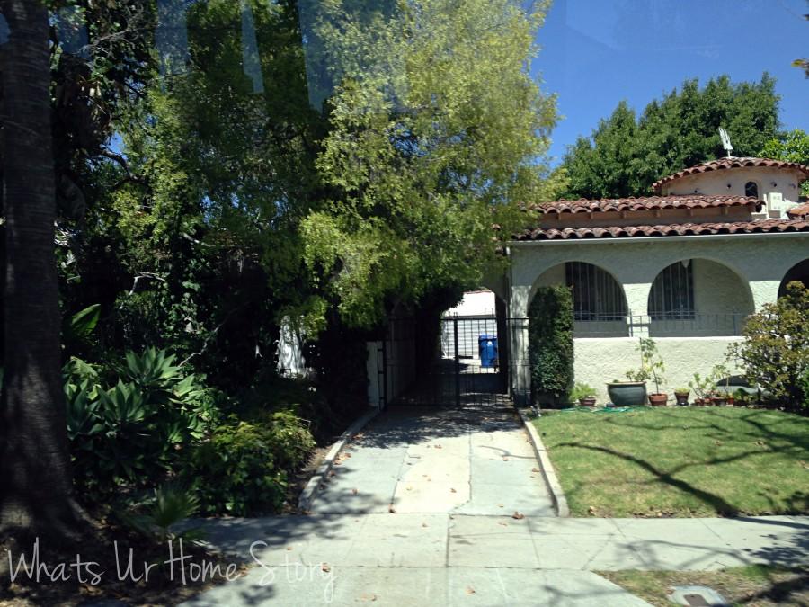 Spanish style bungalows in LA