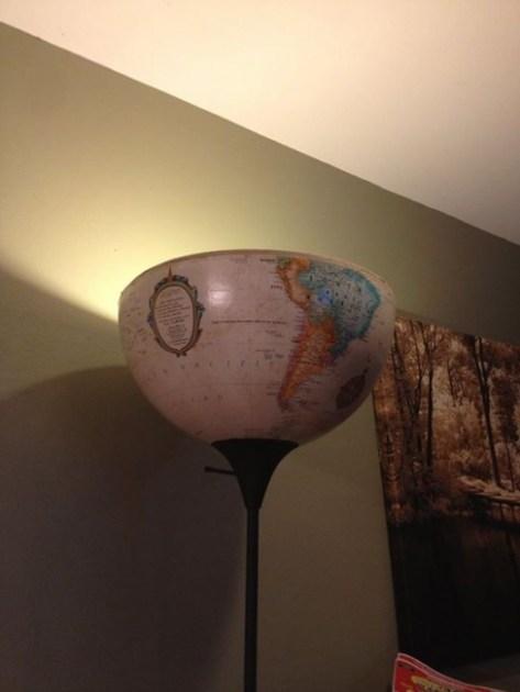 vintage globe light fixture. vintage globe light torcherie, Vintage Globe Light
