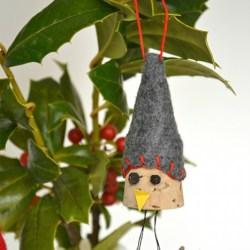 Whats Ur Home Story: Bird Wine Cork Ornaments, handmade christmas ornament, DIY ornament, wine cork diy