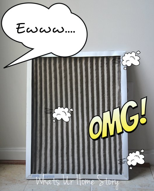 Change the furnace filter every month