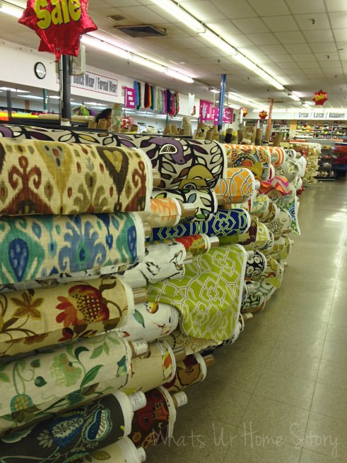 mary jo's fabric, fabric store in Charlotte