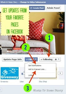 How to Get Updates from Your Favorite Pages on Facebook, how to make sure that you get updates from your favorite pages on facebook
