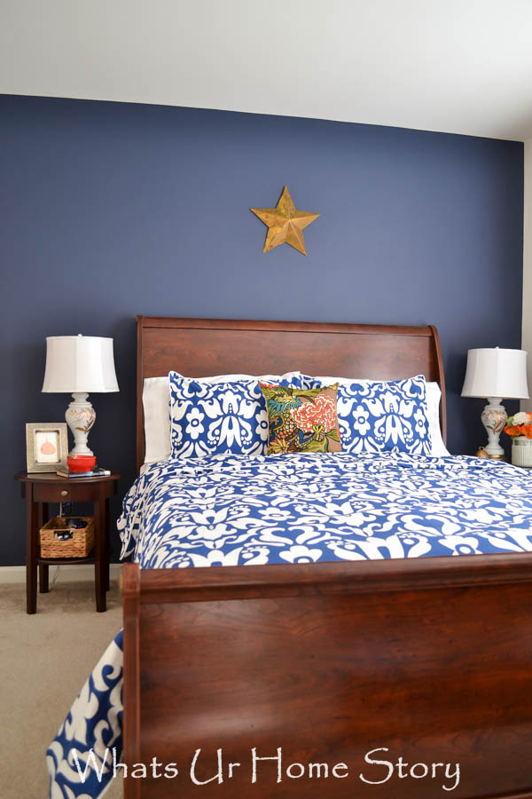 crane and canopy Montgomery blue duvet