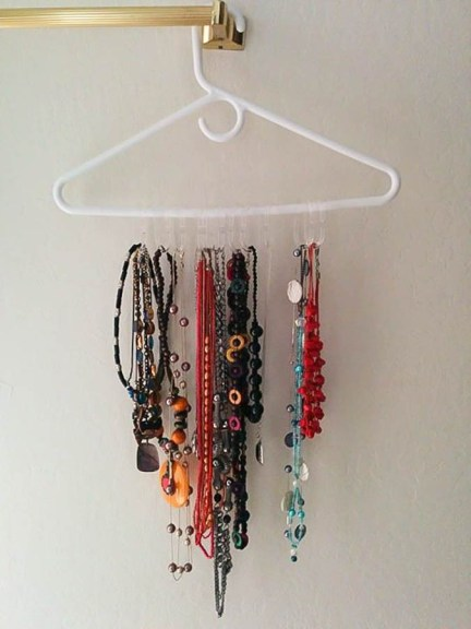 Simple and Easy jewelry organizer