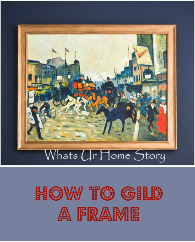 how to liquid gild a picture frame, How to Gild a Picture Frame