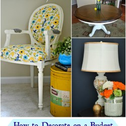 Great tips on how to decorate on a budget - Whats Ur Home Story