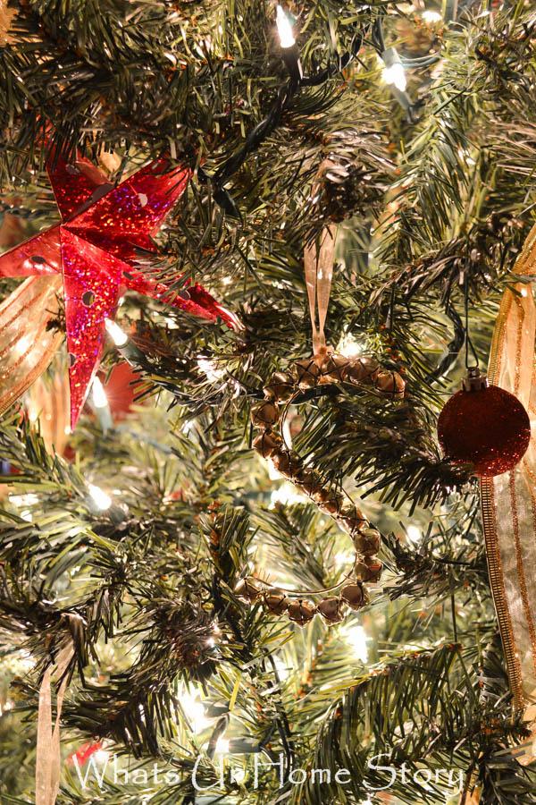 Alphabet Jingle Bell Ornament- Kids Christmas Tree