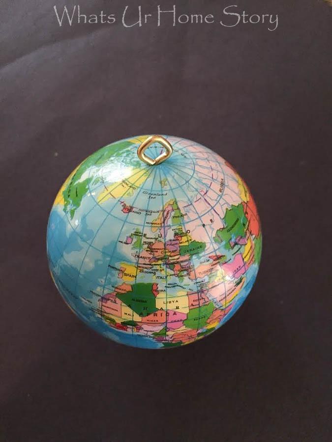 Globe Christmas Ornament