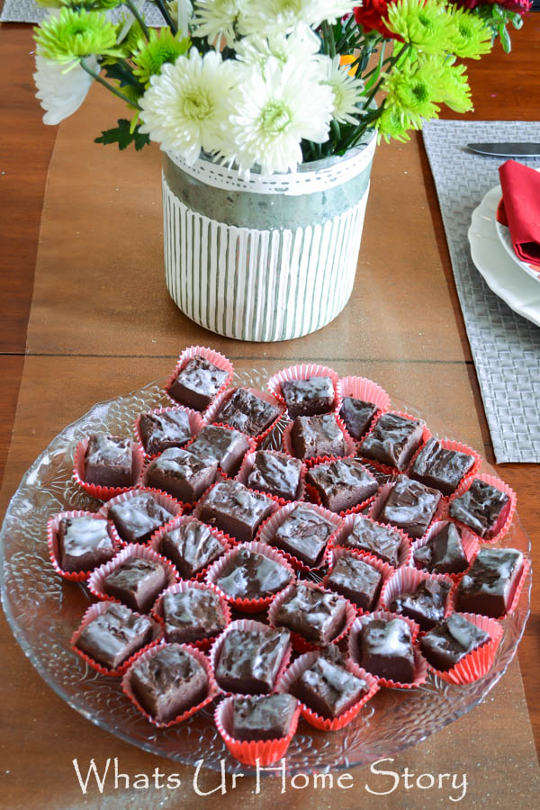 Holiday Entertaining with Chocolate Fudge, holiday recipes, entertaining, easy recipes