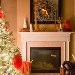 Holiday hosting tips-Holiday Mantel