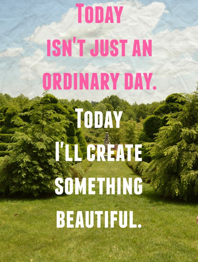 today isn't an ordinary day quote