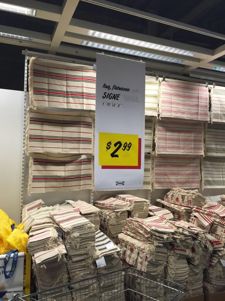 IKEA Signe flat woven rug