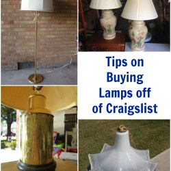 Great tips on buying lamps off of Craigslist