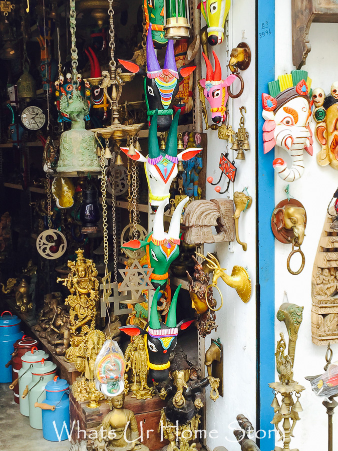 antiquing in Jew town--indian antiques
