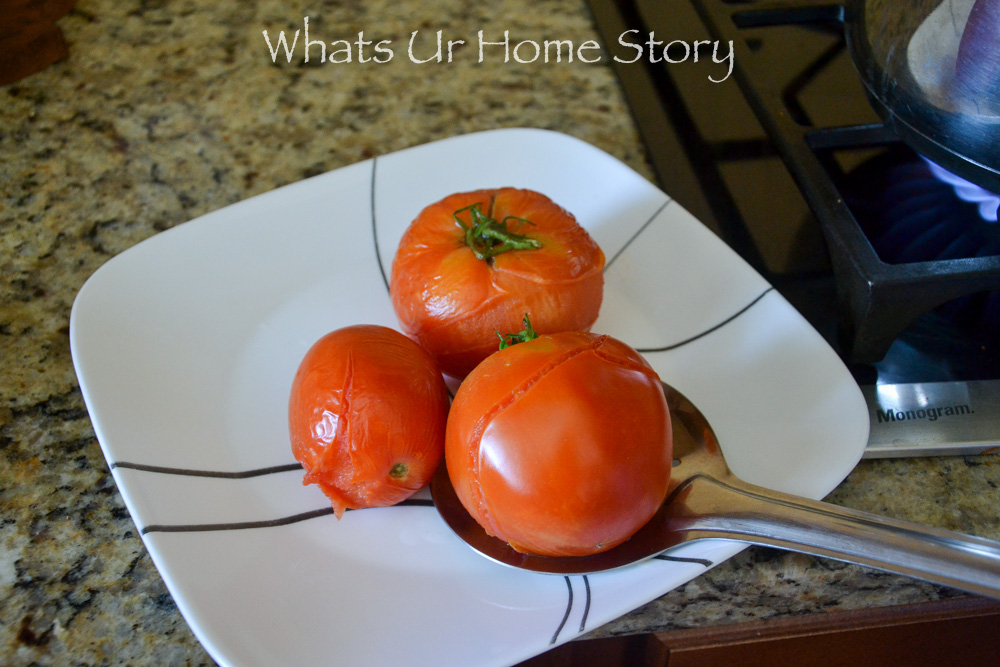 Freezing tomatoes are so easy!