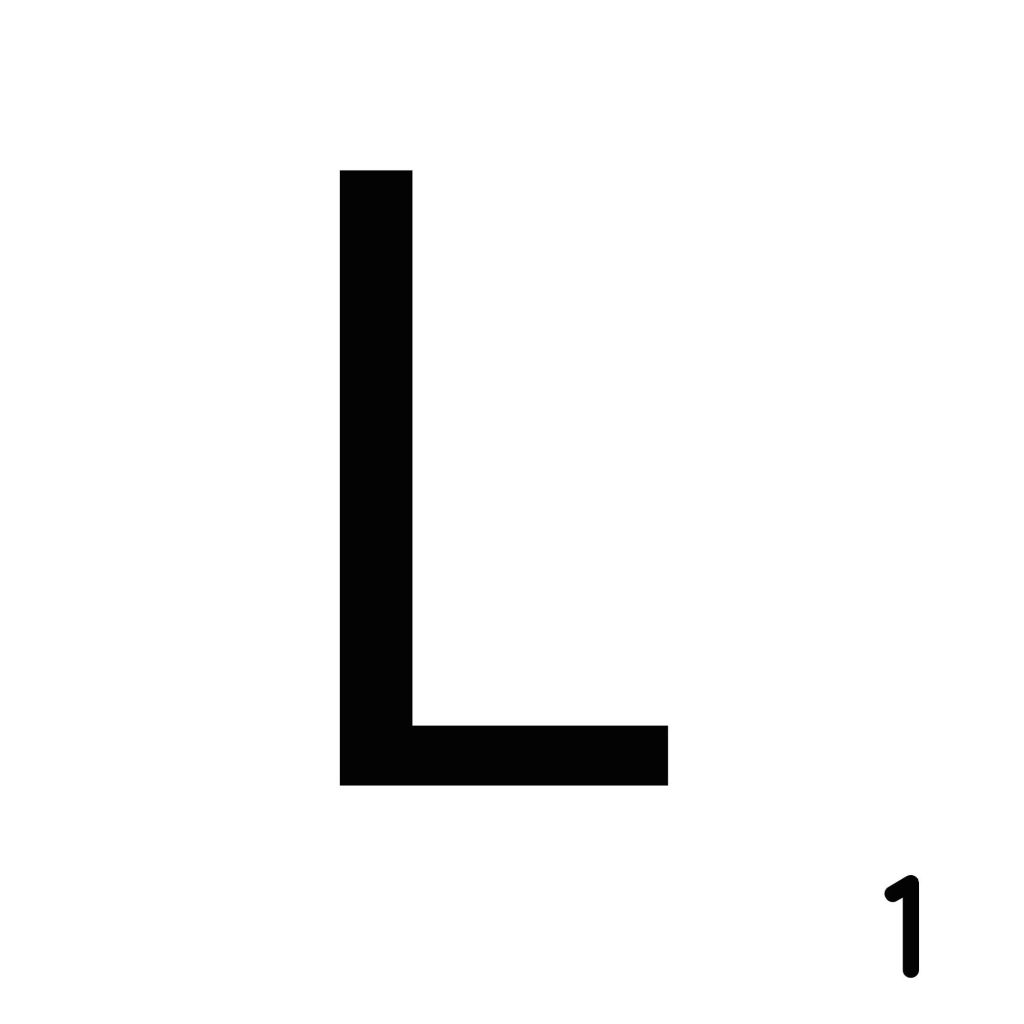 Scrabble Letter L_ Whats Ur Home Story