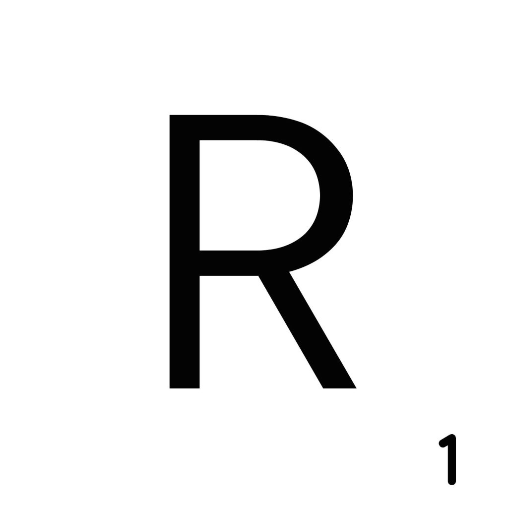 Scrabble Letter R_ Whats Ur Home Story