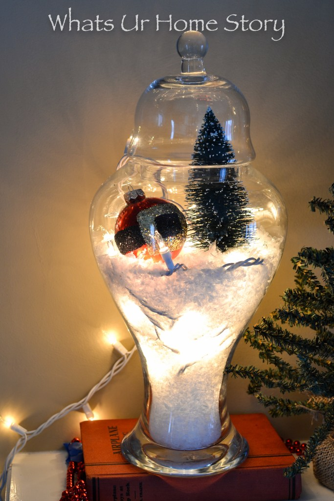 How to make a snow globe terrarium
