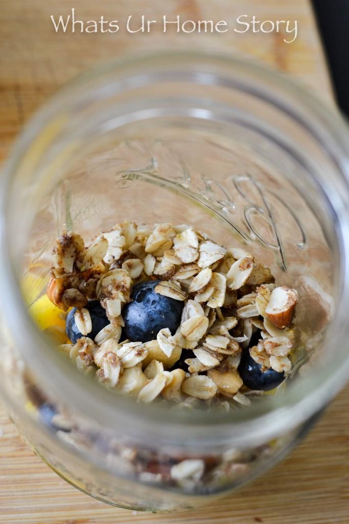 Make ahead Blueberry Mango Yogurt Parfait Recipe