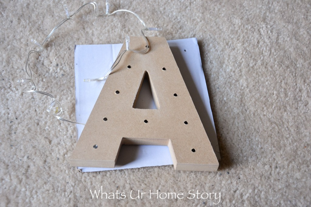 Glitter marquee letters are so easy and fun to make. Use it as fun prop on your desk or a prop on a party table spread