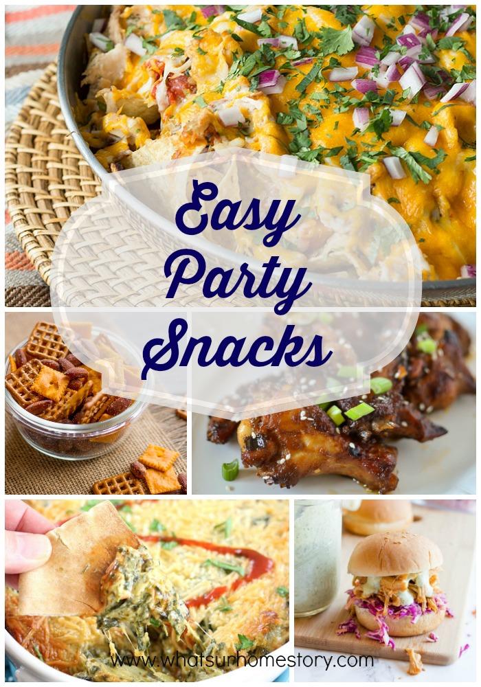 Easy Party Snacks