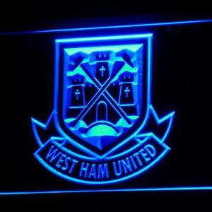 West Ham United F.C. neon light sign