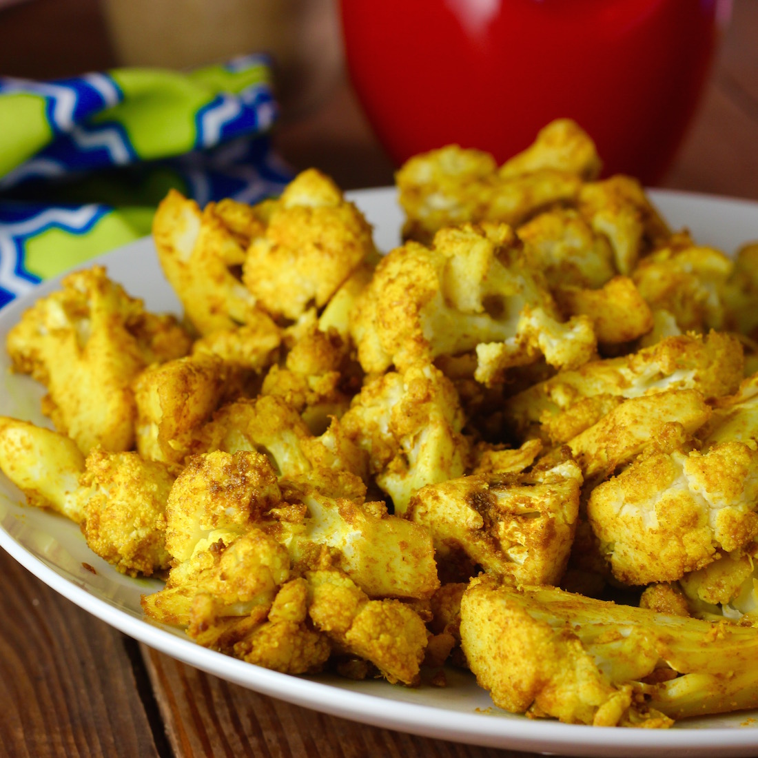 Roasted Cauliflower With Indian Spices (Cumin & Coriander) Recipes ...